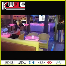 factory supply glowing led nail bar counter for cocktail and mix drinks