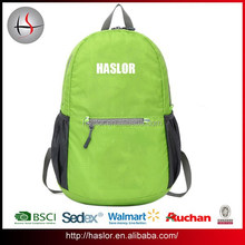 2015 Newest design good quality and folding wholesale backpack