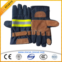 Insulating Aramid Fire Fighter Shock Proof Gloves