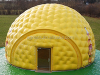 High quality PVC vinyl inflatable igloo tent hot sale to UK S1081