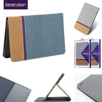 X-level luxury pu leather case for ipad 5 with folio style