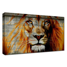 Lion Oil Painting Animal Wall Photo Painting Picture