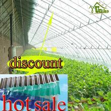 lexan bayer uv coating good quality Long Span low cost anti-drop greenhouse polycarbonate embossed sheet