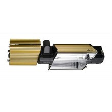 Warranty 5years Single/double ended uv sun light for hydroponics growing,knob/pwm/auto/super lumen dimming ballast fixtures