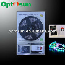 smd5050 led strip magic dream color with power supply by UL approved