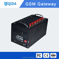 RDA new module 8 ports gsm modem/gsm gateway/sms advertising device for bulk sms voice calling