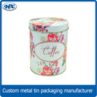 Metal vasilhas açúcar chá vasilha vasilha de café canister