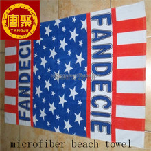 Strong Absorbent Microfiber Beach Towel Promotion,Holiday Beach Towel