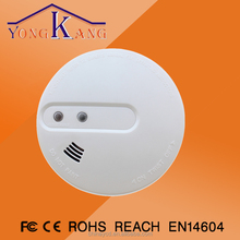 Stand alone Optical combination Heat and Smoke Detector Fire Alarm(sound & light alarm)