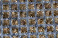 Hot melt adhesive resin crystal rhinestone sticker 24*40cm