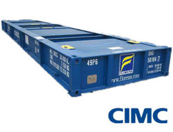 40ft ISO Platform Flat Deck Container