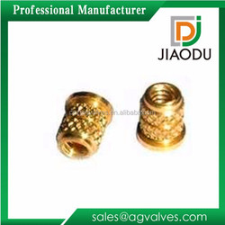 1/8 or 1/4 or 1/2 or 1 or 11/2inch forged brass insert nut for insert molding