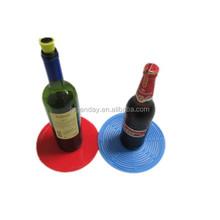 New style wholesale silicone wine bottle holder neoprene bottle wine tote bags