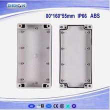 80*160*55mm Electrical ABS/PC IP66 Waterproof Enclosure , Waterproof Box Series DS-AG-0816