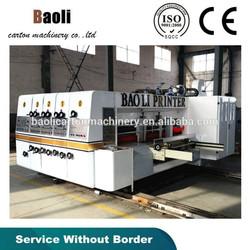 carton printing machine, flexo printing slotting machine