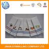 superfine 100% cotton hanging yarn dyed kitchen towel/dish towel/tea towel