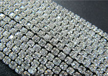 Hot Selling Factory Price Crystal Color 8mm rhinestone cup chain