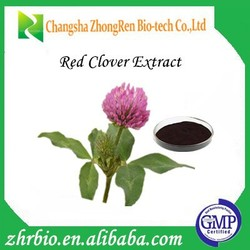 100% Natural Trifolium pratense L extract / Red Clover Extract /Trifolium Extract Isoflavones 30%