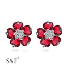 Fashion jewelry accessories wholesale sales earrings woman