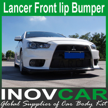 Best quality Taiwan version EVO Style PP Front bumer For Mitsubishi Lancer Front lip Bumper