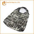 OEM shopping travel tote canvas shoulder bag
