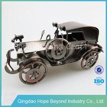 Old car metal handmade model car