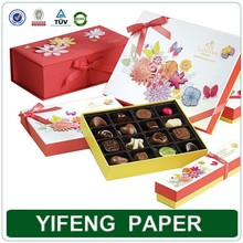 paper necklace box/paper box package/small paper box for chocolate