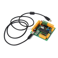 New Arrival Best Price 4 Axis USB CNC Controller Interface Board CNCUSB MK1 USBCNC 2.1 Substitute MACH3 High Quality