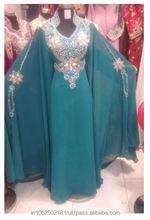 Dubai Moroccan Kaftan Dress Arabic jalabiya Wholesale jilbab hijab k1468