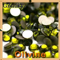 5mm Olivine good quality rhinestone korean low lead