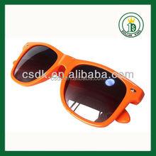 Custom Promotional sunglasses Neon sunglaases orange wayfarer Sunglasses