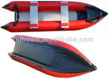 SANJ various size PVC inflatable boat with high quality &CE