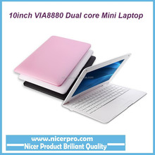 Android4.4 Kitkat mini laptop via8880 netbooks 10inch 1G/8GB with wifi for kids