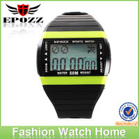 2015 hottest digital movement sale rubber strap EP1301 wrist watch for men