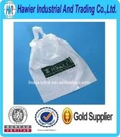 Disposable draw tape plastic drawstring rubbish bag