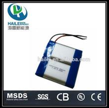703048-2p li-polymer 3.7v 1800mah rechargeable battery