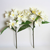 Single stem artificial plumeria wedding decoration flower