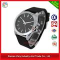 R0690 China alibaba venta al por mayor del silicón de la señora, caja de la aleación simple estilo de señora reloj