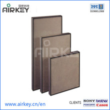h13/h14 hvac system air filter with stainless steel frame box