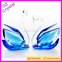 Bling Cheap Crystal Swan Figurines