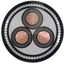 3x240mm Low Voltage Steel Tape Armored Copper Power Cable