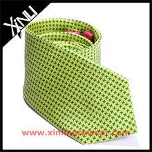 Natural Silk Screen Printing Necktie