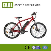 electric moutain bike lithium battery/bicicleta electrica
