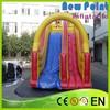 PVC trampoline Sliding Inflatable Slide Toboggan