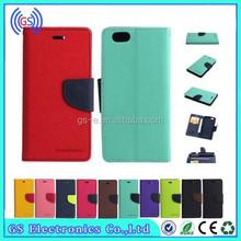 Mercury Goospery Fancy Diary Leather Case For Huawei Ascend P7,Cell Phone Case For Huawei Ascend P7