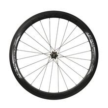 Chinois roues de carbone pneu 50 mm YOELEO C50 fantôme de carbone roues de vélo de route 700C