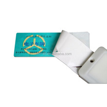 windshield UHF programmable rfid card for vehicle identification