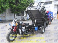 175cc water cooled dumping cargo tricycle