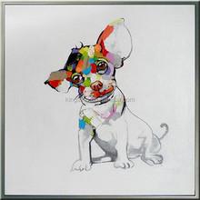 2015 New Craft Handpaint Modern Animal Painting 58628