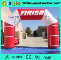 Hot sale cheap inflatable finish line arch for sale